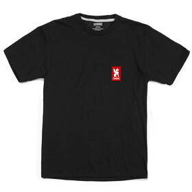 Chrome Vertical Red Logo Tee black/red